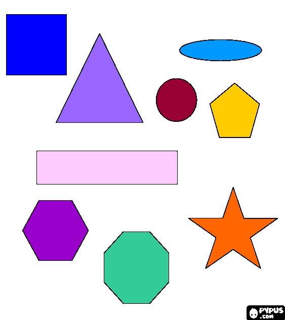 Baú Da Web: Desenhos De Formas Geométricas Para Pintar