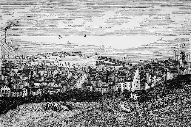 Early Whitehaven Etching