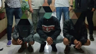 Totosik Polres Tomohon Tangkap 3 Pelaku Pengeroyokan di Matani