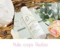 Avis Asabio : huile corps et crème réparatrice main et ongles