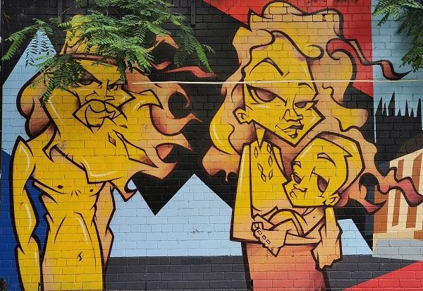Woolloomooloo Street Art   Mistery