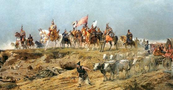 A magyarok érkezése a Feszty képen