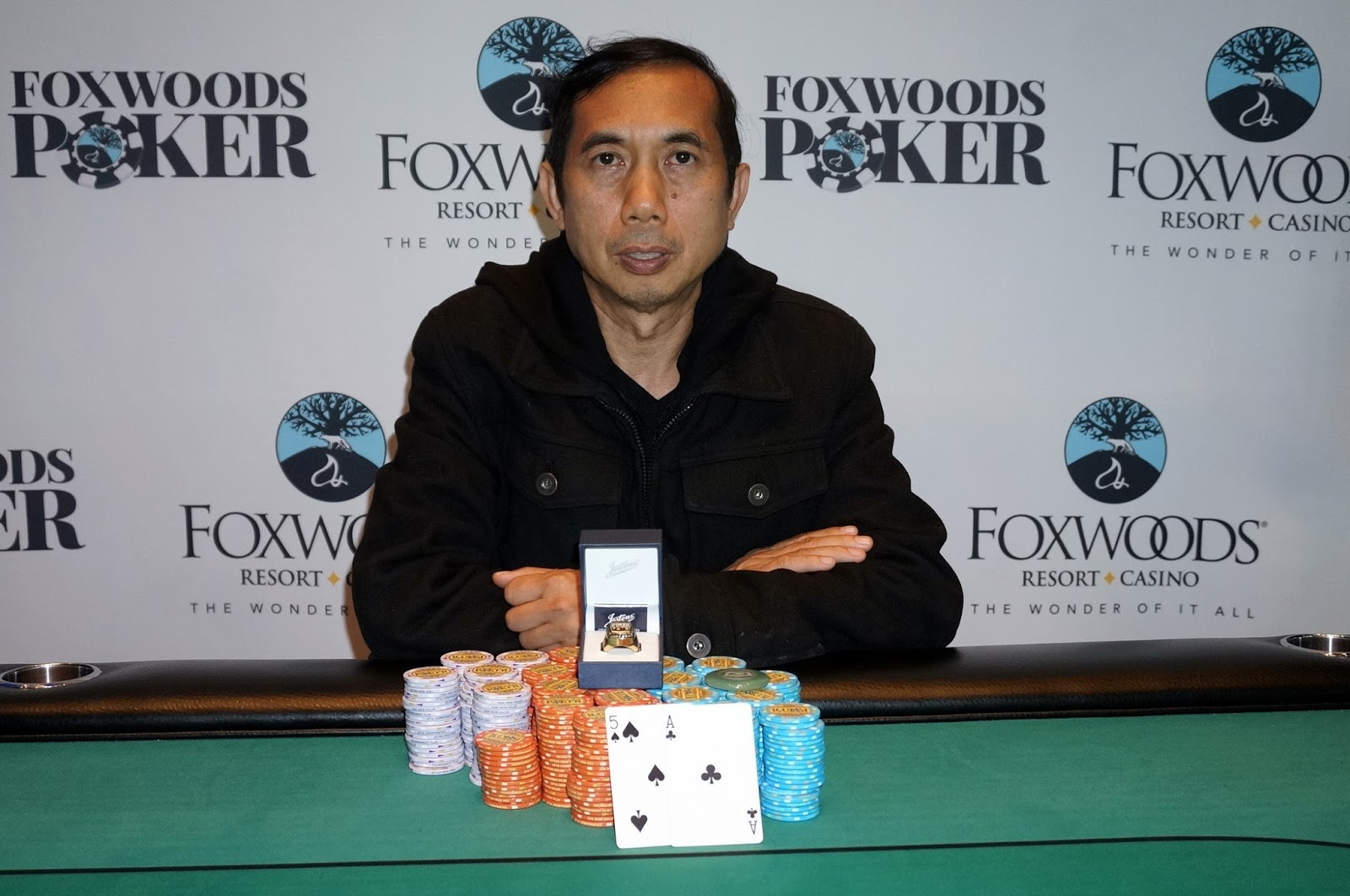 Foxwoods Poker Event 2 580 Re Entry Panja Lymswan Wins First