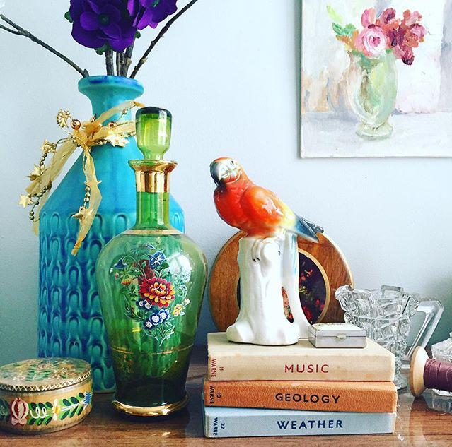 lisa_loves_vintage, lisa_loves_vintage Instagram, collect, style, #collectandstyle, collect and style, vintage, collectibles, vintage tableau