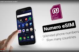Download Numero eSIM Untuk Mendapatkan Nomor Telepon Virtual Gratis