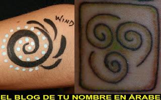 Tatuajes de lso elemento: El aire