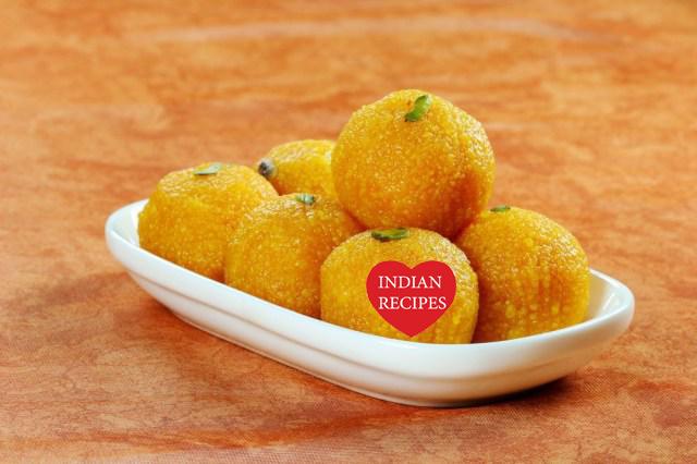 How to make Motichur Laddus - Motichur Laddu Recipe