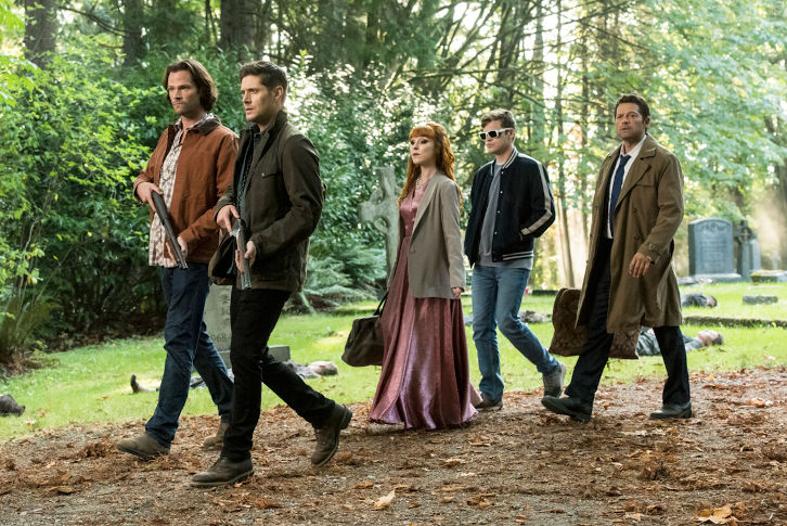 Supernatural - Episode 15.03 - The Rupture - Promo, Promotional Photos + Press Release