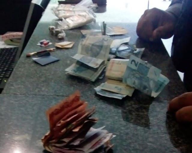 Casal é preso em flagrante por tráfico de drogas na cidade de Piripiri
