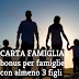 Carta Famiglia: Sconti per Famiglie Numerose