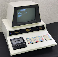 Commodore PET 2001 (Oct 1977) with Sanyo drive