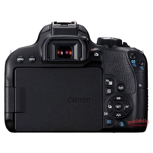 Canon EOS 800D, вид сзади