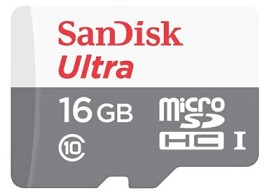 SanDisk 16 GB MicroSDHC Class 10 48 MB/s Memory Card for Rs.200 Only @ ebay (For New Users)