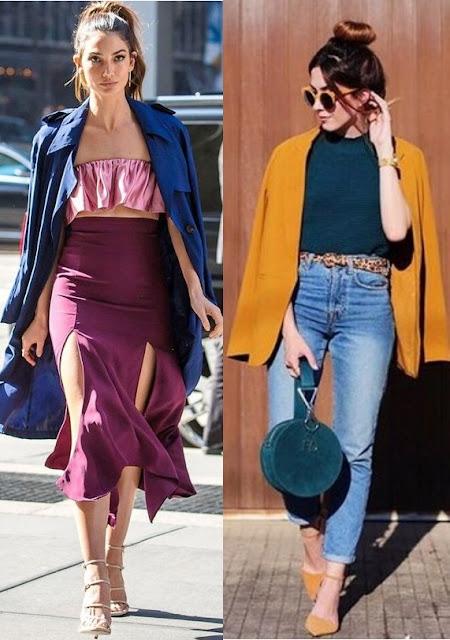 12 Looks com color block, Lily Aldrige, Flavia Desgranges