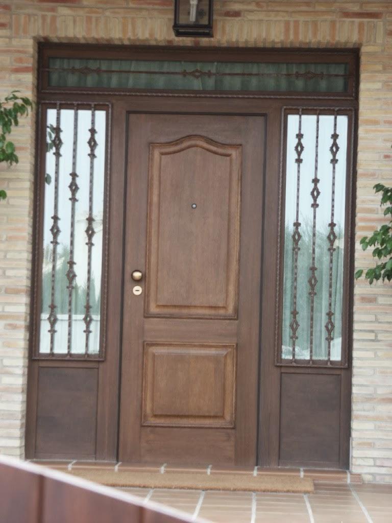 Puertas de madera dise os de puertas de madera exterior - Puertas de entrada madera ...
