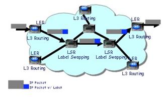 Gambar 6. MPLS Cloud