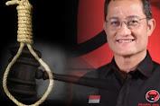 Janji Firli Bahuri Hukum Mati Koruptor Dana Bansos Ditagih KNPI