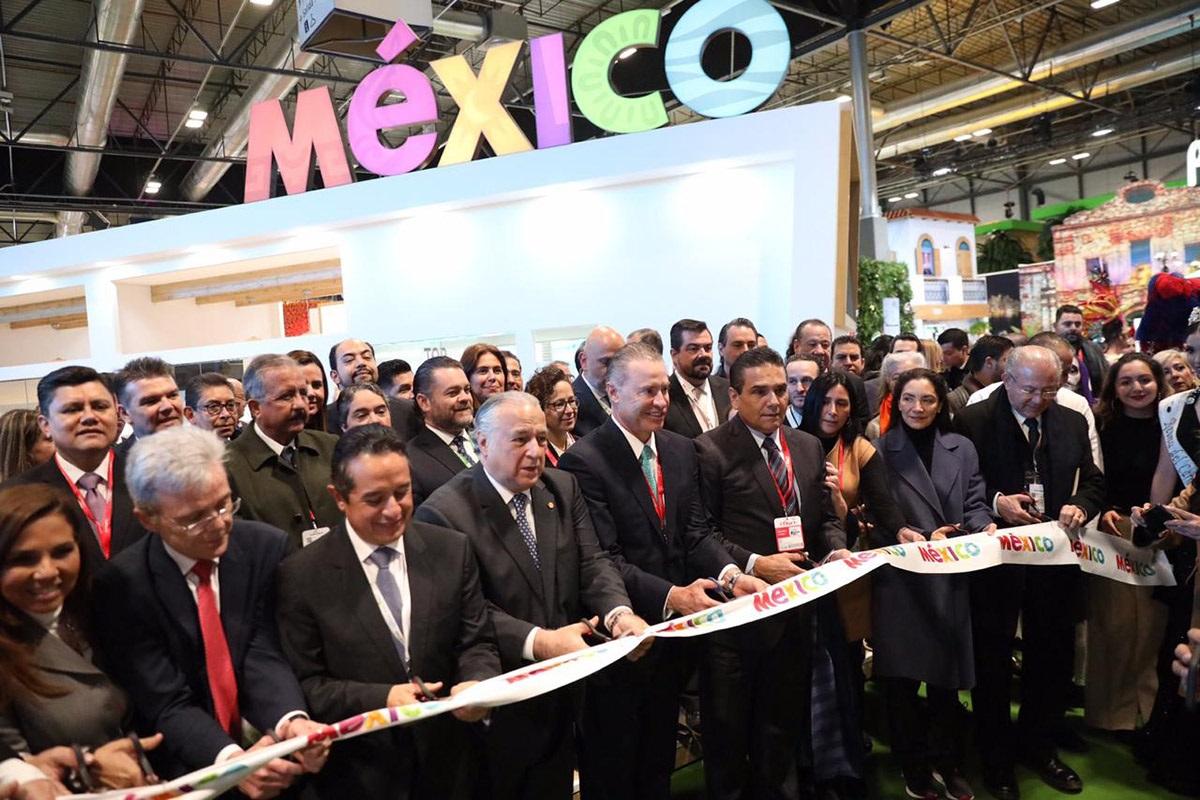 MÉXICO ARRANCA PARTICIPACIÓN FITUR SECTUR 01