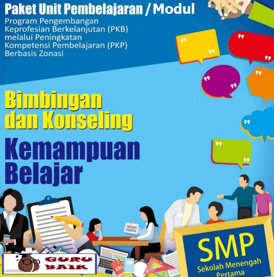 Donwload Modul PKP Guru BK SMP Edisi 2019/2020 Format Pdf