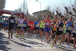 fotos media maraton leon 2016