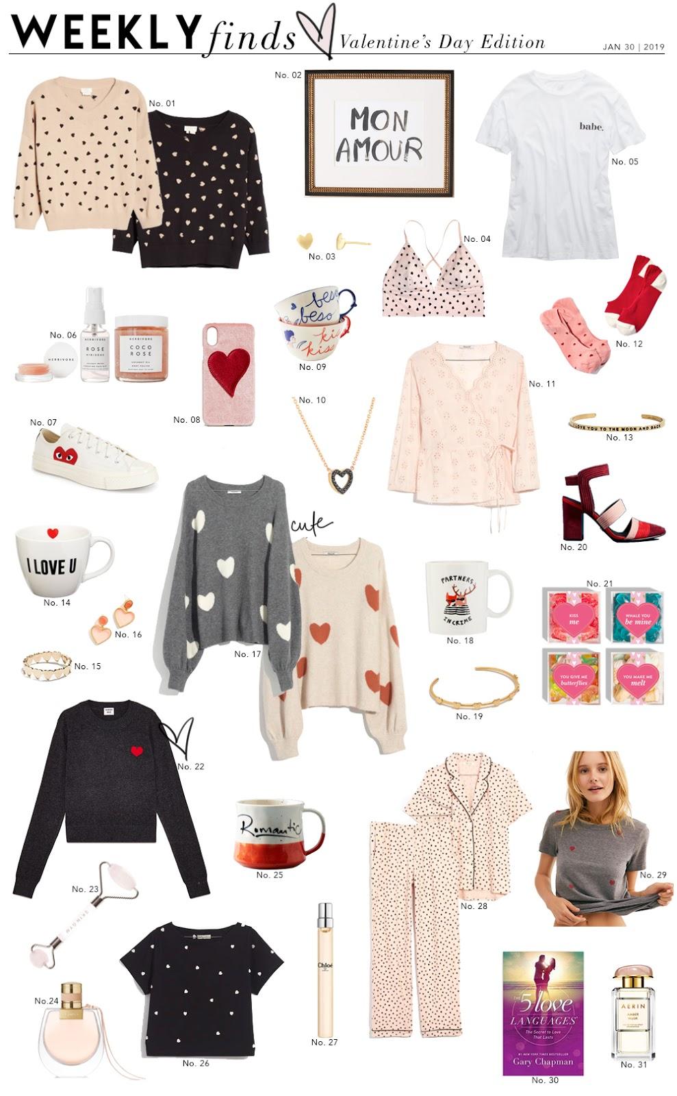 Shopping File: Valentine's Day Picks