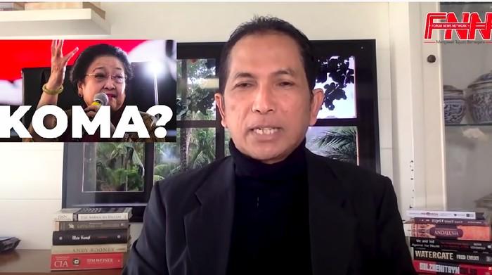 Hersubeno Arief Akhirnya Buka Suara Usai Dipolisikan PDIP DKI soal Hoax 'Megawati Koma'