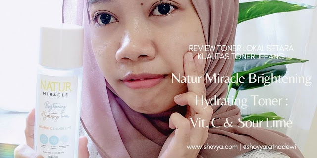 Review Natur Miracle Hydrating Toner