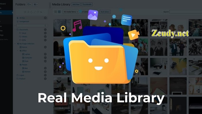 Real Media Library v4.13.4 Folder & File Manager WordPress Plugin Nulled
