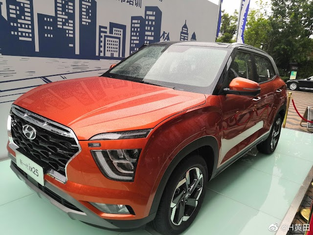 2020 Hyundai Creta in new color & with clearest interior Shade snapped.- Teamstechnology
