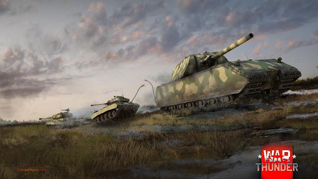 8 Heavy Tank Terbaik di War Thunder