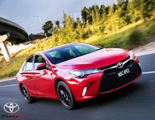 2016 Toyota Camry Atara SX Redesign Engine