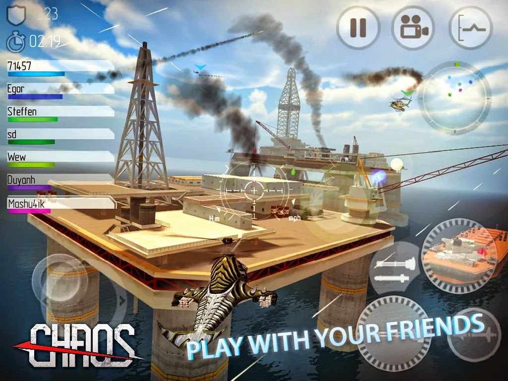 CHAOS Combat Helicopter HD №1 v7.2.0