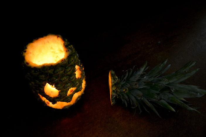 Piña de halloween