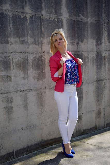 outfit blazer fucsia come abbinare un blazer fucsia outfit fucsia come abbinare il fucsia mariafelicia magno colorblock by felym outfit primaverili outfit aprile 2017 fashion blog italiani fashion blogger italiane