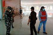 Sidak Satgas Covid-19 Kecamatan Malingping di Proyek Pembangunan Samsat Malingping Dinilai Lamban