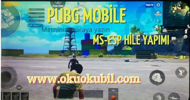 Pubg Mobile 0.18.0 Ms-ESP Hilesi Nasıl Yapılır? Telefon Rootsuz İndir 2020
