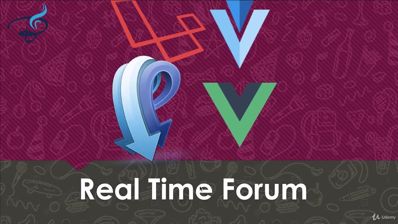 Real Time Single Page Forum App with Pusher Laravel & vuejs | Online
