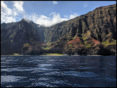 NuAlolo Valley on the NaPali Caost Kauai