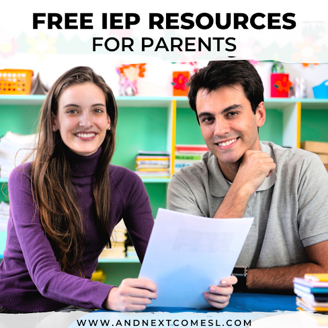 Put together your own IEP toolkit with these free IEP binder printables