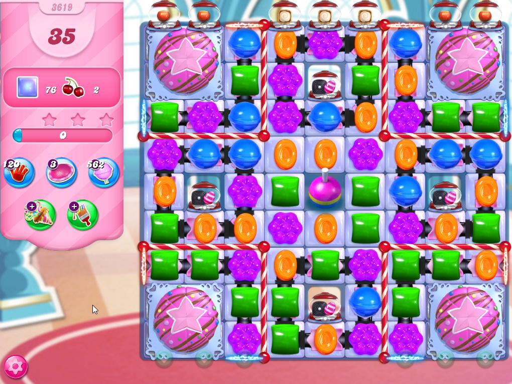 Candy Crush Saga level 3619
