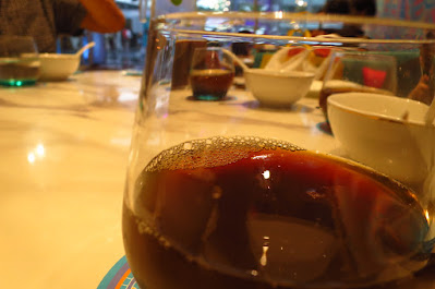 Alijiang (阿里疆) Silk Road Cuisine, apricot tea