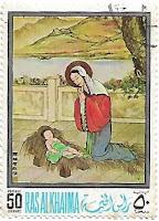 Selo Adoração do Menino Jesus