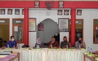 Babinsa Wakili Danramil Hadiri Monev Dana Desa Dan Alokasi Dana Desa