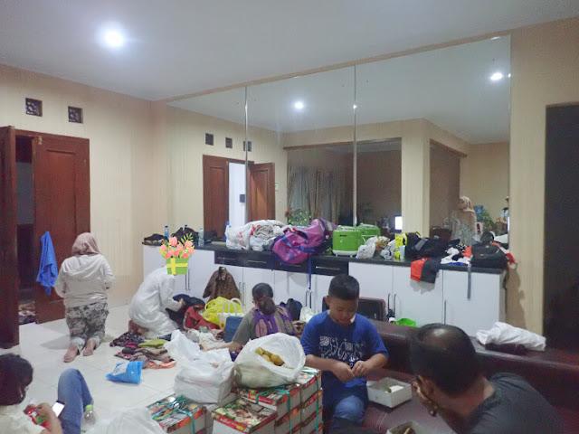 kumpul keluarga di timoho residence jogja