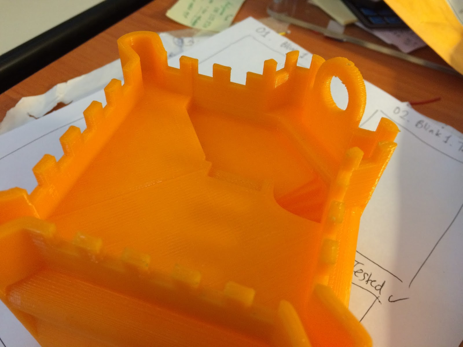 hamster castle 3d print complete with roof