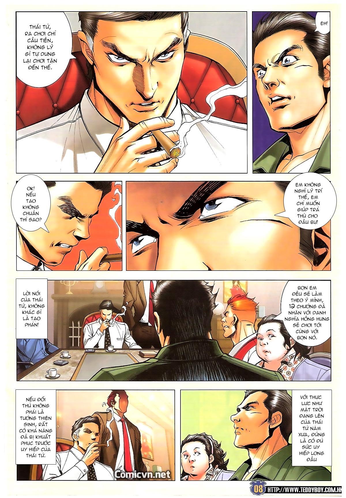 Người Trong Giang Hồ chapter 1642: anh hùng khí đoản trang 7