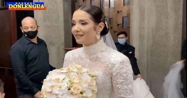 La CoronaParty de boda de Daniela Alvarado podría dejar a varios infectados