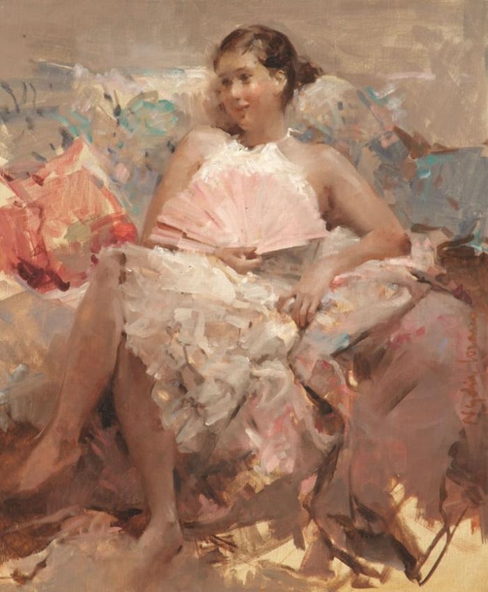 Nydia Lozano, 1947 Impressionist Figurative painter - Fine Art and ...
