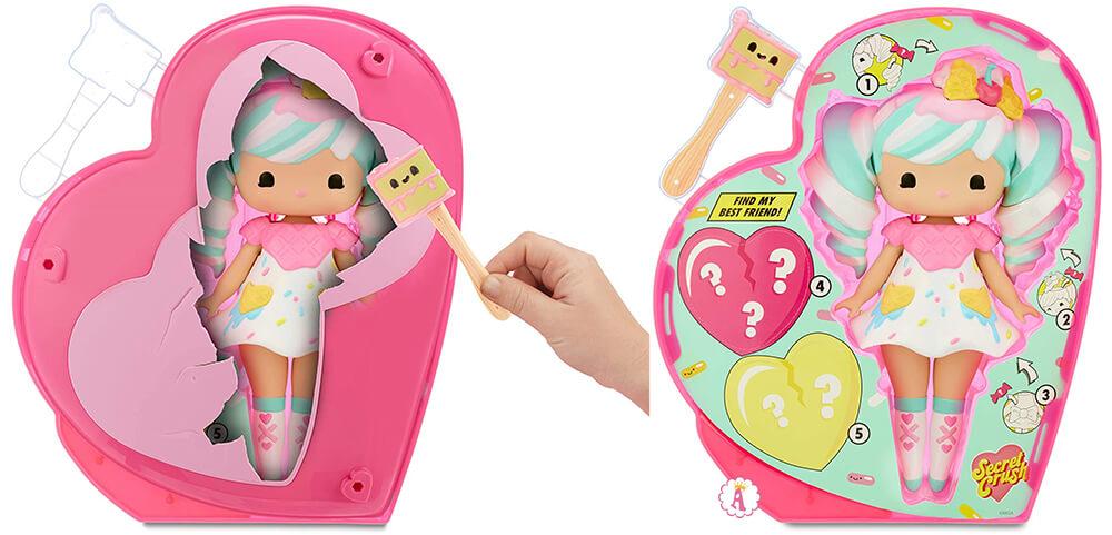 Кукла сюрприз Sundae Swirl и мини Winnie Wafflecone