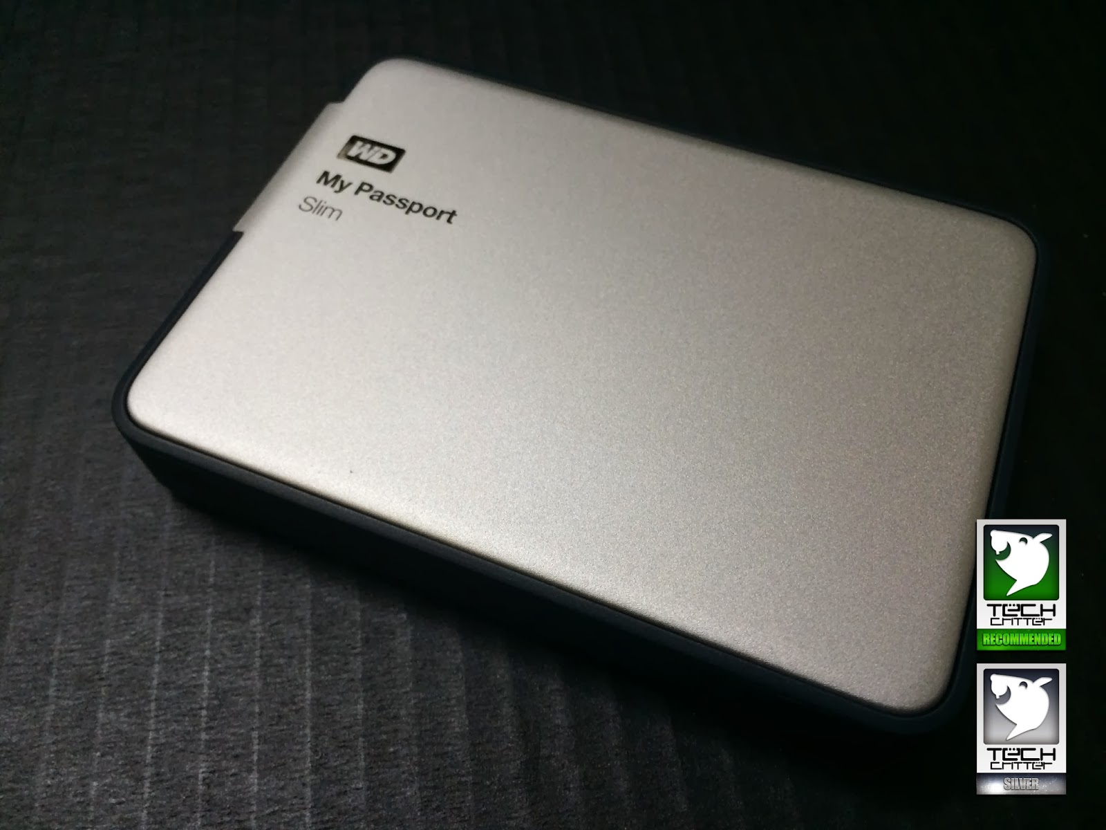 Unboxing & Review: Western Digital My Passport Slim 108